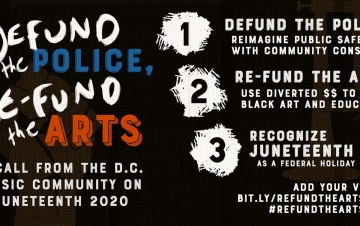 Defund the Police, Re-Fund the Arts